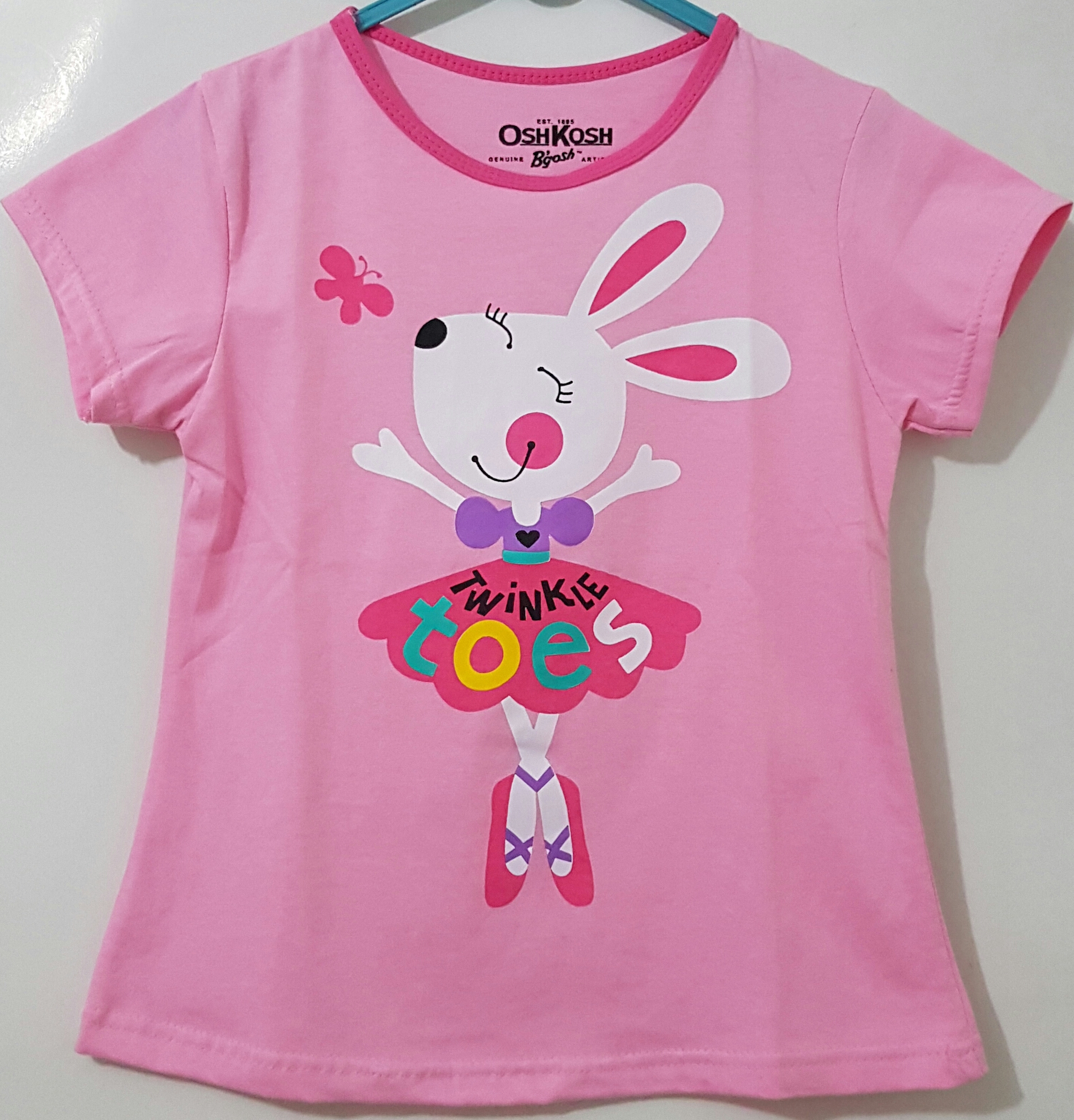 kaos oshkosh rabbit pink (1-6) DISNEY  6c8e433275