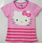 kaos hello kitty salur pink new(1-6)