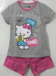 setelan hello kitty abu smile (1-6)
