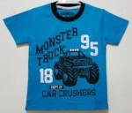 kaos monster truck biru (1-6) oshkosh