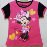 kaos minnie mouse love fanta (1-6)