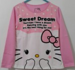 lengan panjang hello kitty sweet dream pink 1-6,disney