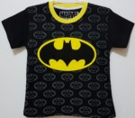 kaos batman logo black 1-6, marvel
