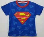 kaos superman logo logo biru 1-6,marvel