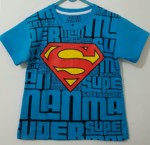 kaos superman distro biru 1-6, marvel