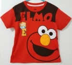 kaos elmo new red 1-6, disney