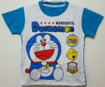 kaos doraemon wonderful biru 1-6, disney