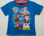 kaos paw patrol biru ( no job is too big) 1-6,disney