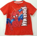 kaos spiderman ultimate  merah jump 1-6, marvel