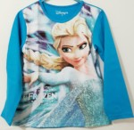 lengan panjang frozen elsa magic biru 1-6, disney