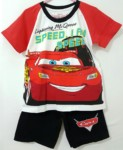 setelan mcqueen speed raglan red 1-6,disney