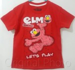 elmo red lets play 1-6, sesame street