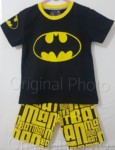 setelan batman batman logo black 1-6,marvel