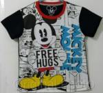kaos mickey mouse free hugs 1-6,disneys