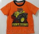 kaos anak oshkosh dirt zone orange 1-6, oshkosh