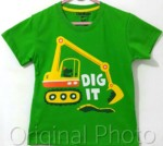 kaos oshkosh dig it green 1-6,oshkosh