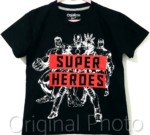 kaos super heroes black 1-6, oshkosh