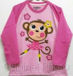 baju oshkosh monkey sweet long 1-6, oshkosh  (grosir baju anak)