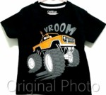 kaos anak oshkosh vroom monster truck 1-6, oshkosh