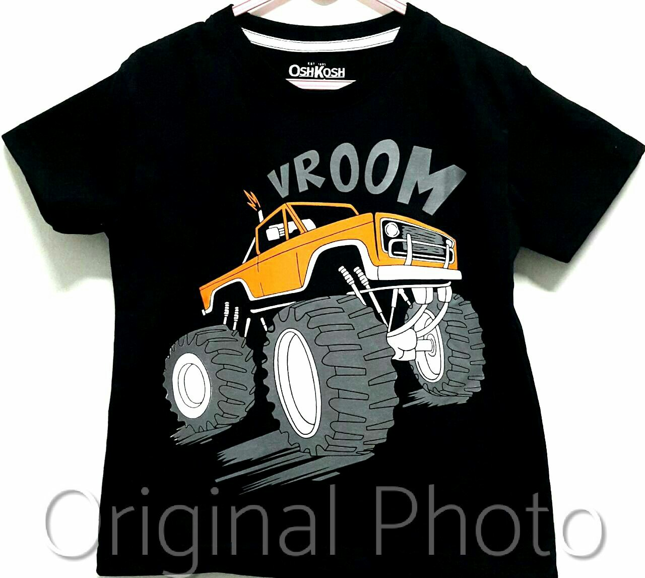 kaos anak oshkosh vroom monster truck 1-6 a52d231828