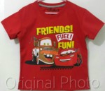 kaos anak mcqueen friends fuel fun 1-6, disneys