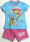 setelan little pony blue awesome 1-6, disneys ( grosir baju anak)