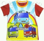 kaos tayo the little bus pelangi