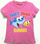 kaos baby shark dance 1-6, disneys grosir baju anak