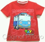 kaos tayo little bus red 1-6,disneys grosir baju anak