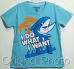 kaos oshkosh bgosh shark , i do what i want , 1-6, grosir baju anak