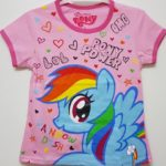 kaos little pony star love 1-6, disneys grosir baju anak